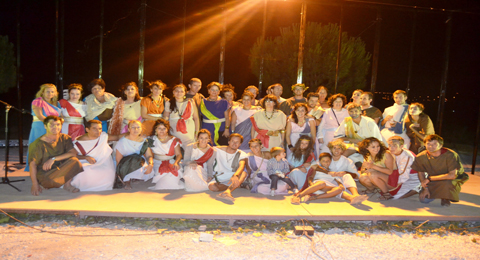 6.000 personas visitaron la I Fiesta Romana Ventippo de Casariche