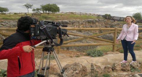Casariche y su pasado romano presentes en el programa Destino Andalucía