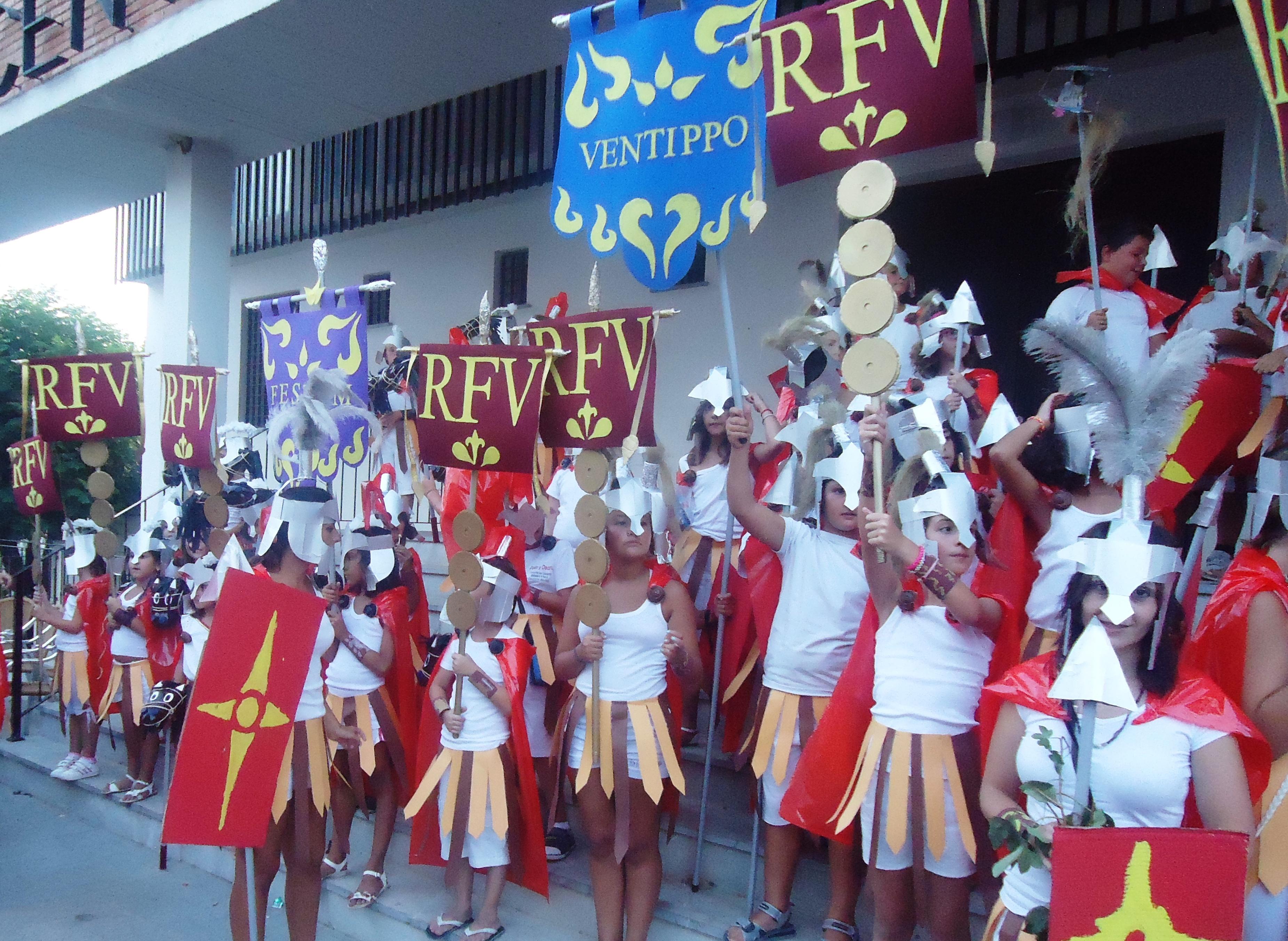 El alumnado del Campamento Urbano participará también este año en el desfile inaugural del Romanorum