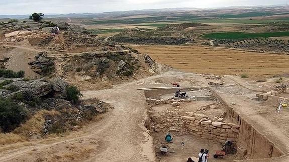 Hallados restos de un colegio sacerdotal en las excavaciones de Regina (Badajoz)