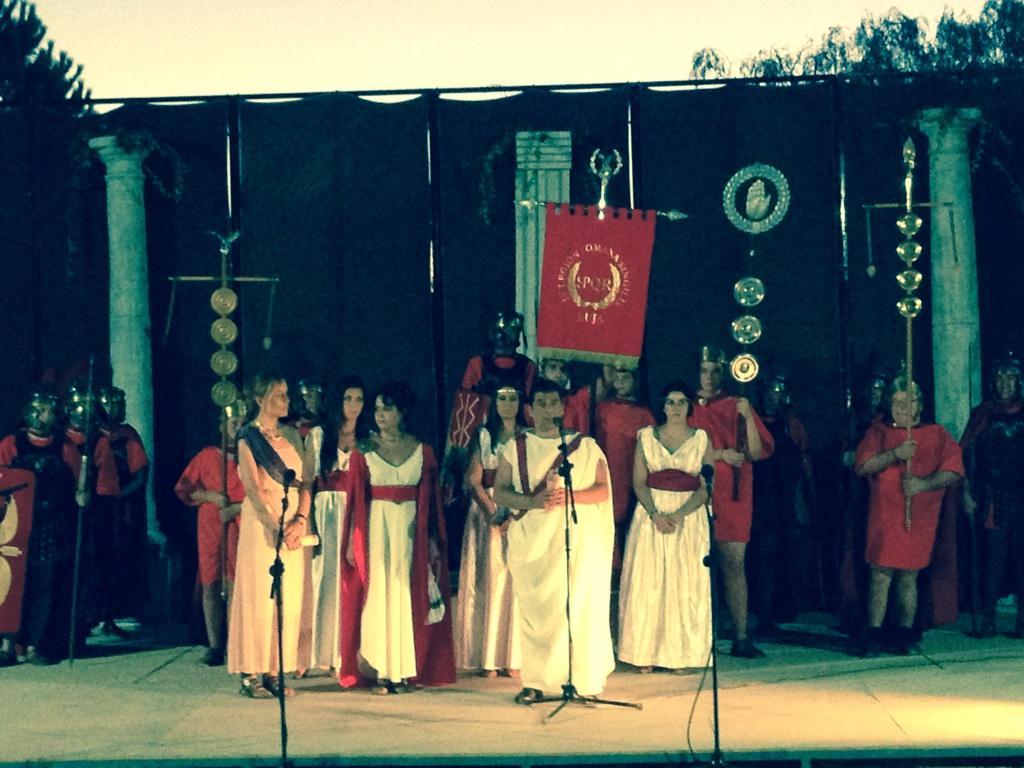 La Antigua Roma renace en Casariche tras el comienzo del III Romanorum