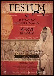 """""""Festum,VII Jornadas Iberorromanas"""" se celebra en Almedinilla del 11 al 17 de Agosto"""