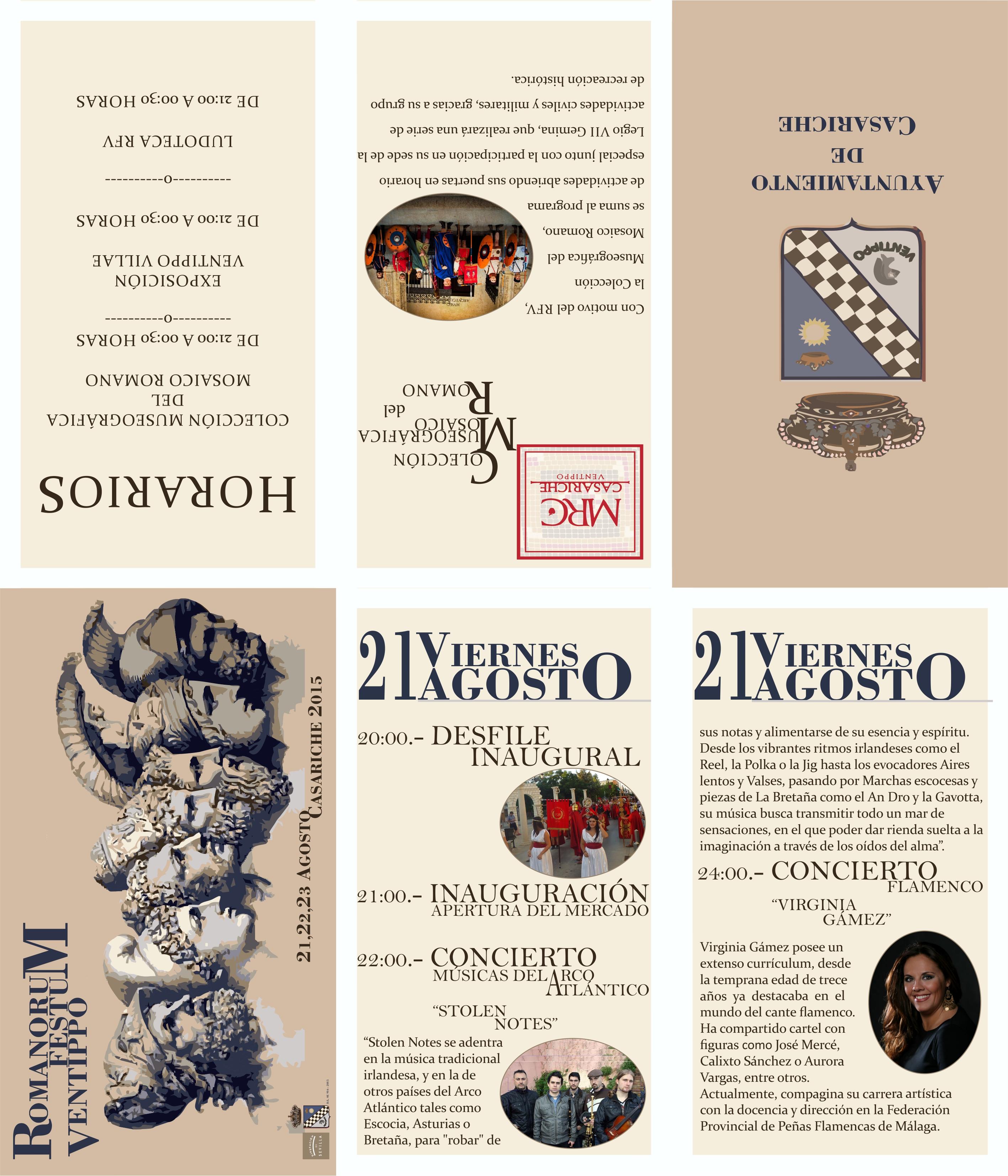 Programa IV Romanorum Festum Ventippo