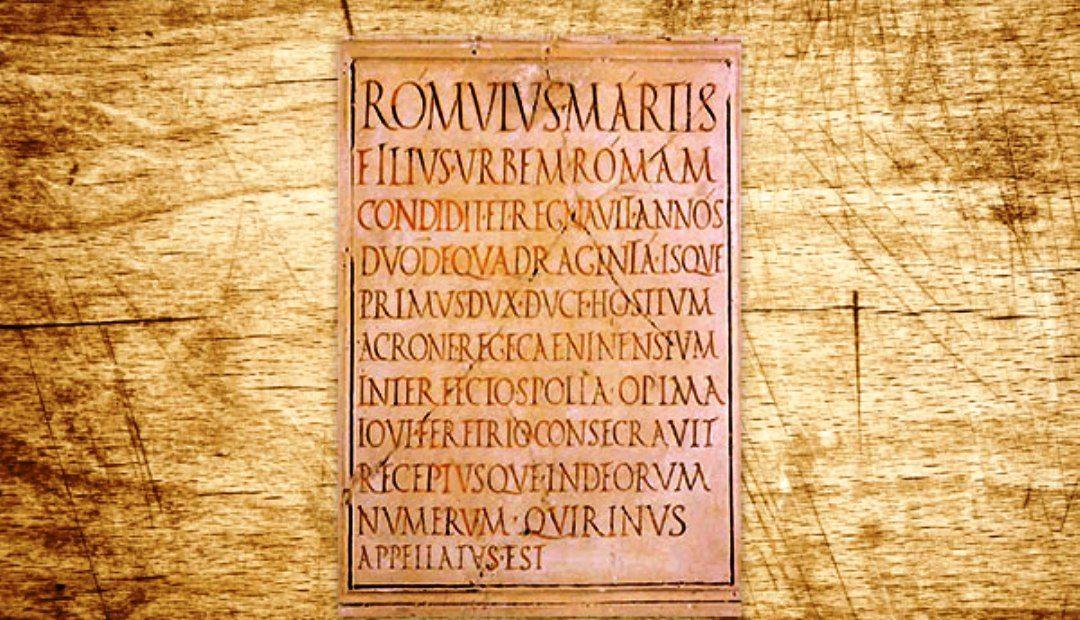 ¿Sabías que en la civilización romana encontramos la primera forma de periódico?