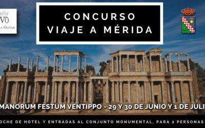El nuevo concurso en facebook de nuestro sexto Romanorum Festum Ventippo está arrasando