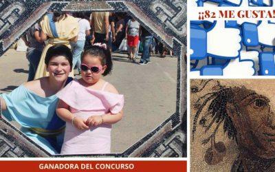 Lidia Díaz Parra ha conseguido el premio del último concurso de nuestro VI Romanorum Festum Ventippo