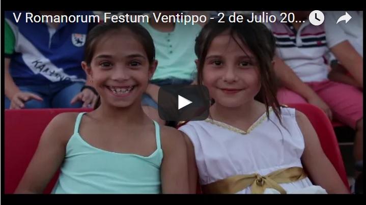 Cultura y diversión inundan Ventippo – Día 2 V Romanorum Festum Ventippo